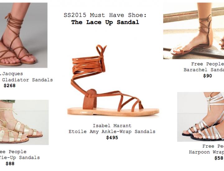 Modele de sandale care se poartă în 2015