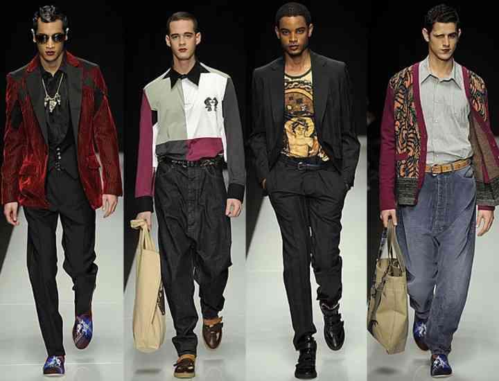 Ţinute inspirate din anii 70, la modă pentru Bărbaţi în 2015
