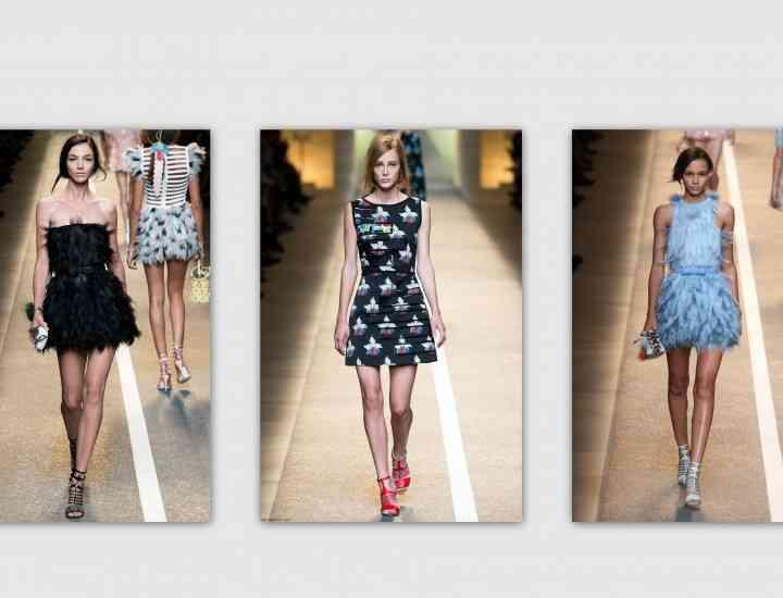 Fendi – colecția primăvară / vară 2015 la Milano Fashion Week
