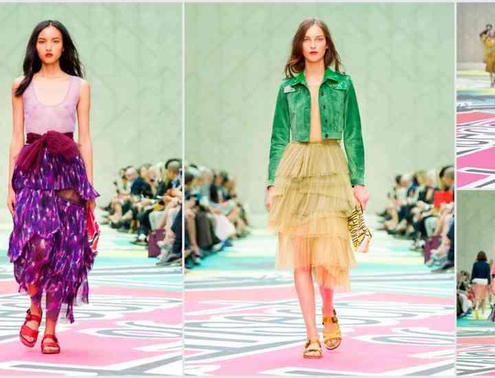Colecția Burberry Prorsum primăvară / vară 2015 – un tribut adus naturii la London Fashion Week