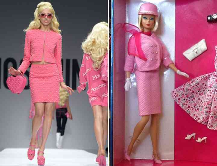 Colecția Moschino pentru primăvara / vara 2015 – dedicată păpușii Barbie