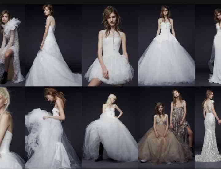 Colecția rochii de mireasă Vera Wang pentru toamna 2015