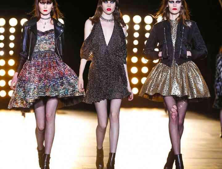 Colecția Saint Laurent pentru toamna/iarna 2015-2016 – Paris Fashion Week