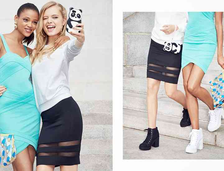 H & M Divided  Street Style 2015