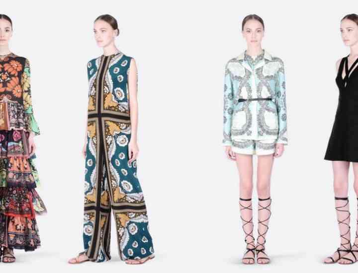 Surpriza Valentino – o colecție prêt-à-porter de rochii primăvară / vară 2015