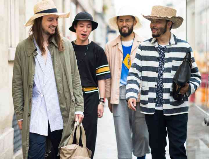 Pălării şi şepci la modă în 2015. Pălării Primăvară-Vară Bărbaţi