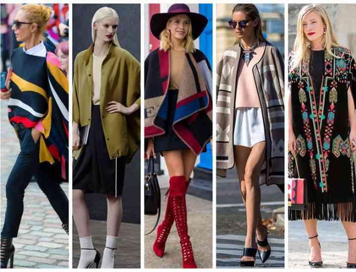 3 modele de poncho-uri care se poartă în 2015