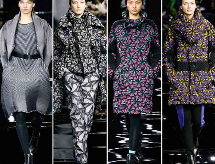 Colecția Issey Miyake pentru toamna / iarna 2015-2016 – Paris Fashion Week
