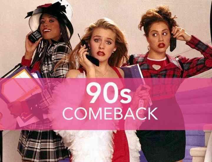 Haine din anii 90 care sunt din nou la modă