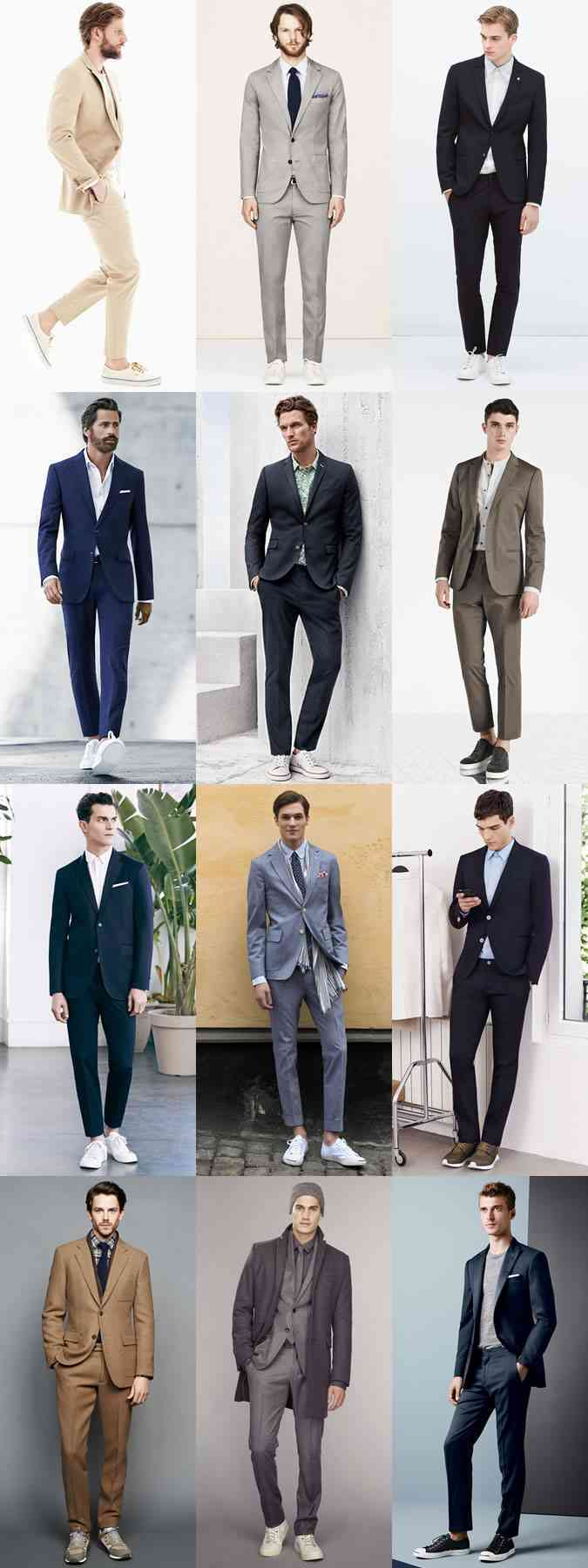 moda barbati 2015 costum pantofi sport