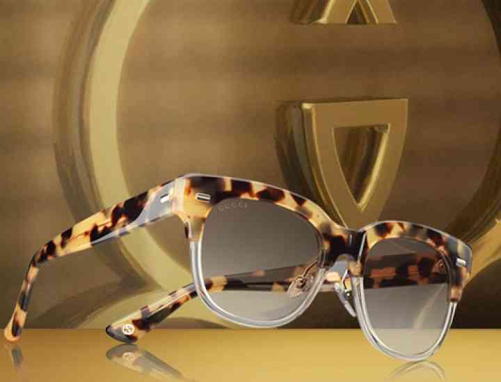 """Gucci lansează ochelarii de soare """"Havana"""" pentru primăvara / vara 2015"""