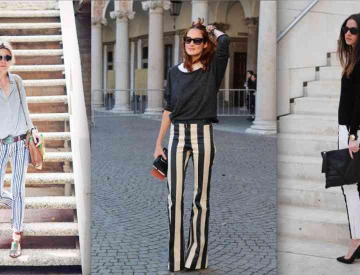 Idei de ținute: Poartă cu stil pantalonii cu dungi