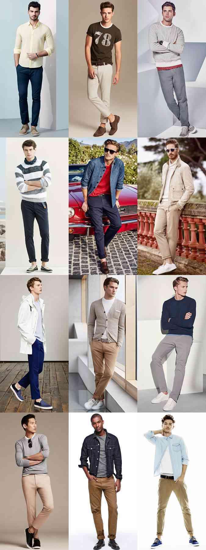 pantaloni chinos 2015