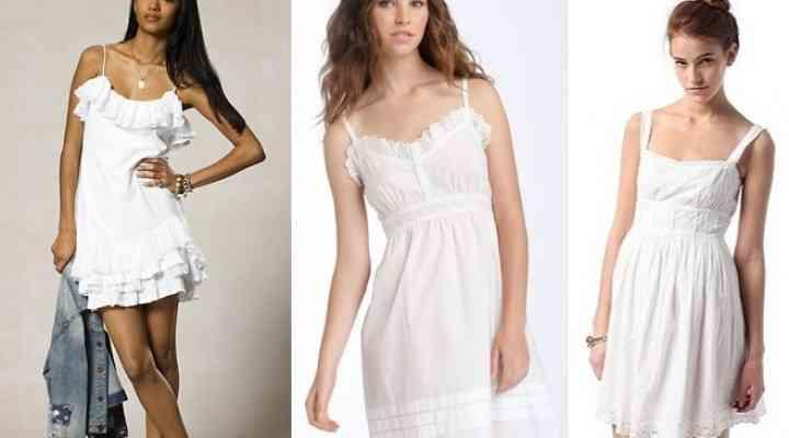 Cum să porţi corect o rochie albă. Cum alegi rochia şi accesoriile