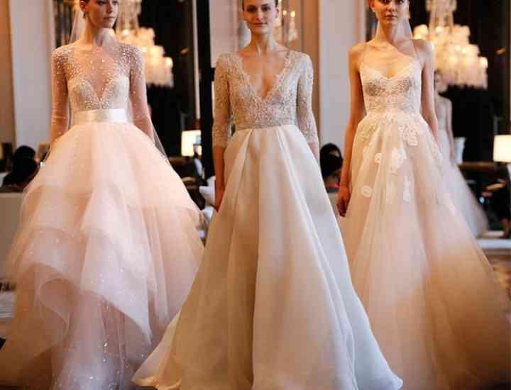 Monique Lhuillier – rochii de mireasă primăvară 2016