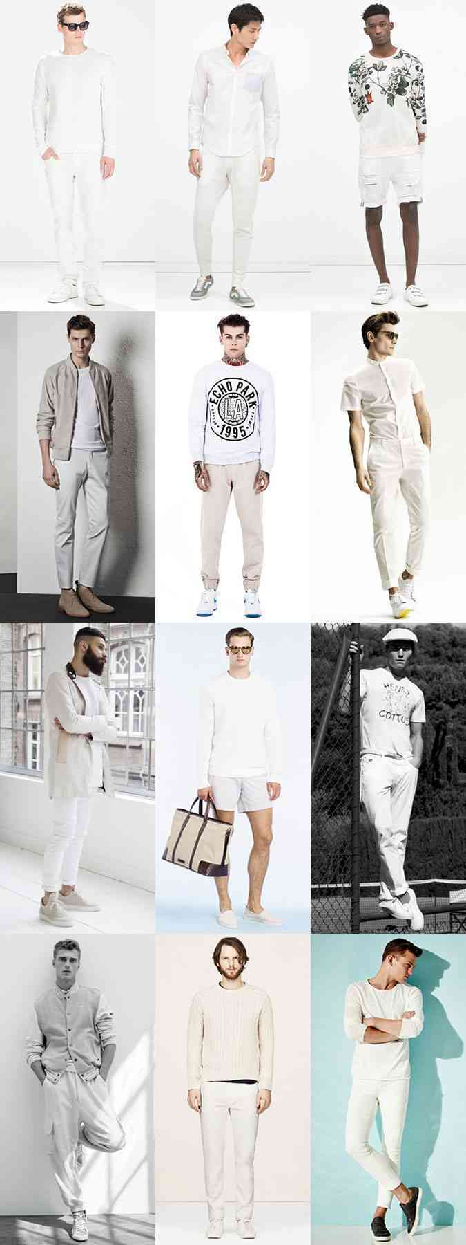 tinute all white 2015