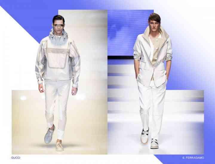 Ţinutele all-white rămân la modă. Cum să porţi alb în 2015