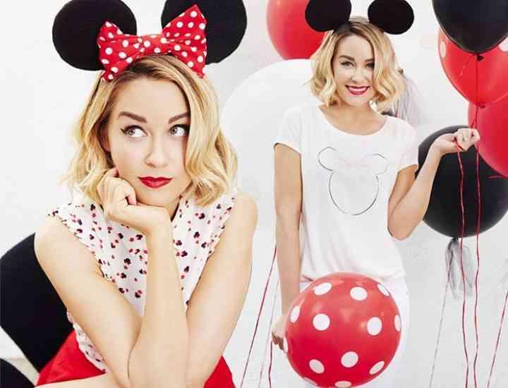 Colecția Lauren Conrad cu Mickey și Minnie Mouse pentru Kohl