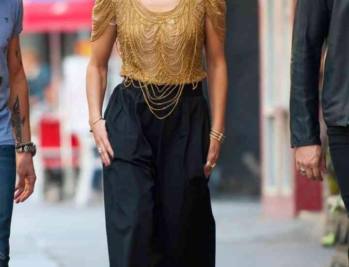 Pantalonii culottes, în tendințe în 2015: Cum îi poartă vedetele