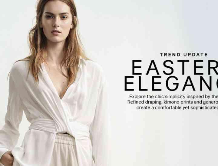 Cea mai noua colecție H & M Eastern Elegance pentru vara 2015