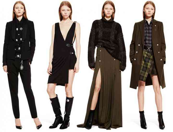 Filiala Versus a casei de modă Versace prezintă colecția pentru toamna 2015