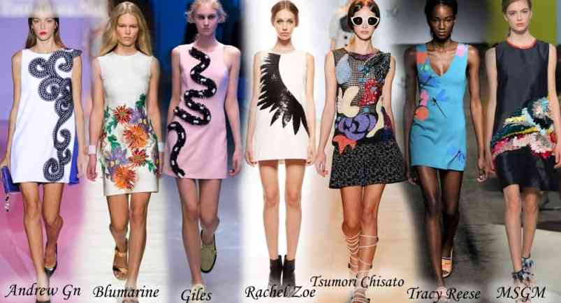 rochii cu imprimeuri 2015