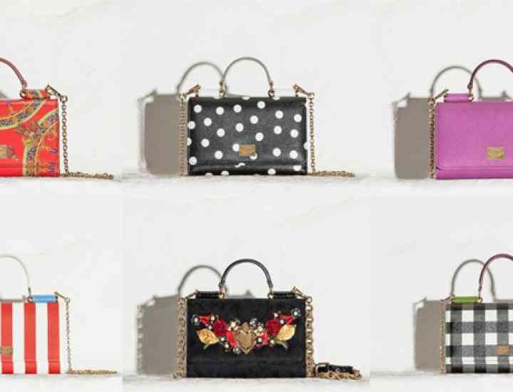 Dolce & Gabbana lansează o colecție de genți mini, huse pentru telefon și gadgeturi
