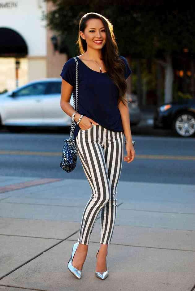 pantaloni dungi