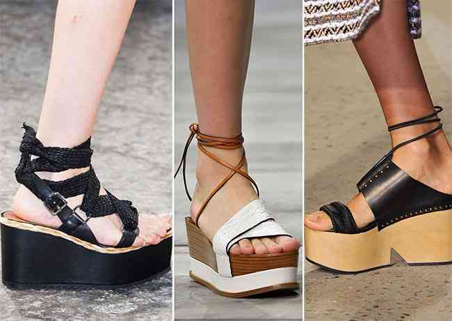 pantofi platforma
