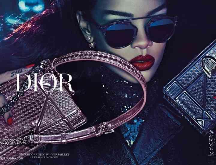 "Rihanna, imaginea celei mai noi campanii Dior ""Secret Garden IV"""