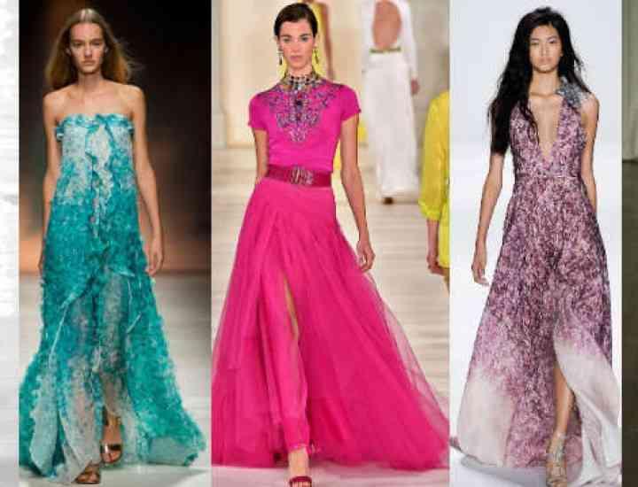 Tendințe rochii de seară 2015