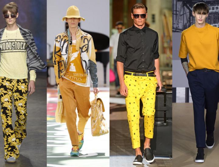 Tendințe modă bărbați primăvară/vară 2015 de la Milano