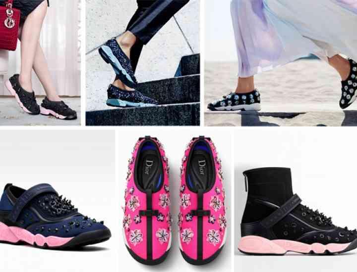 Trend alert: Dior lansează o colecție de adidași pentru toamna 2015
