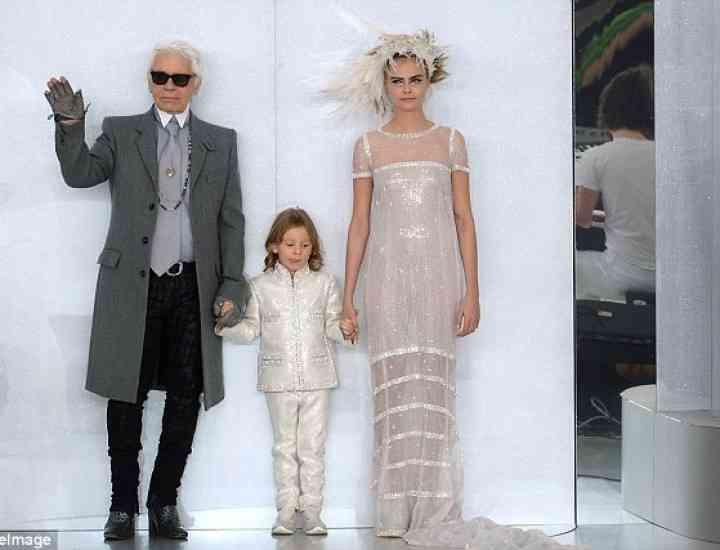 Karl Lagerfeld anunță lansarea unei colecții pentru copii