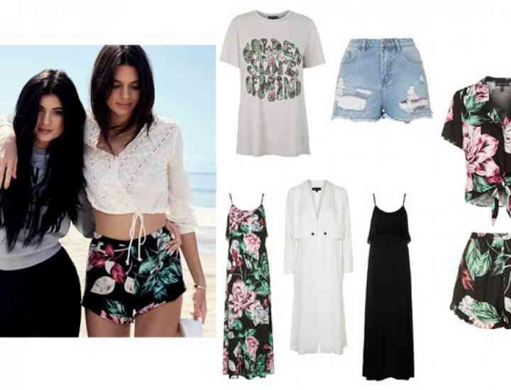 Colecția Kendall & Kylie Jenner prezentată în exclusivitate pentru Topshop