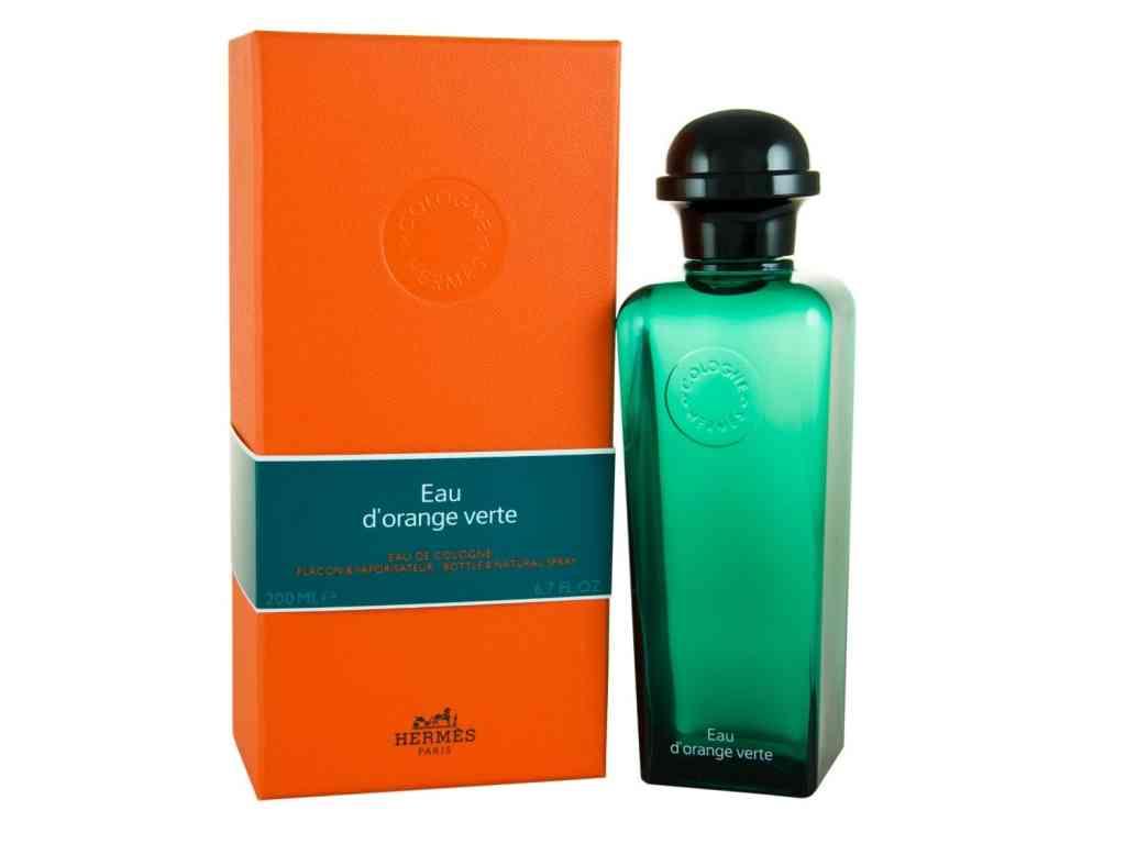 eau dorange verte