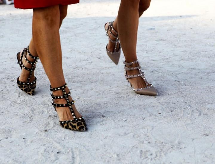 Pantofii care au dublat veniturile casei de modă Valentino