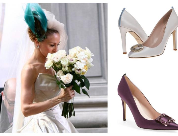Sarah Jessica Parker lansează o linie de pantofi de mireasă