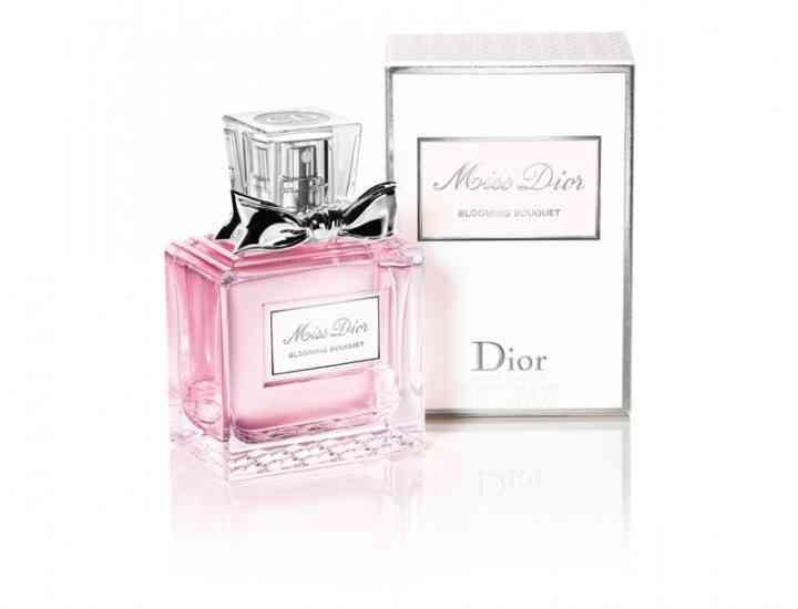 Miss Dior Blooming Bouquet noul parfum lansat de Christian Dior pentru primăvara / vara 2015
