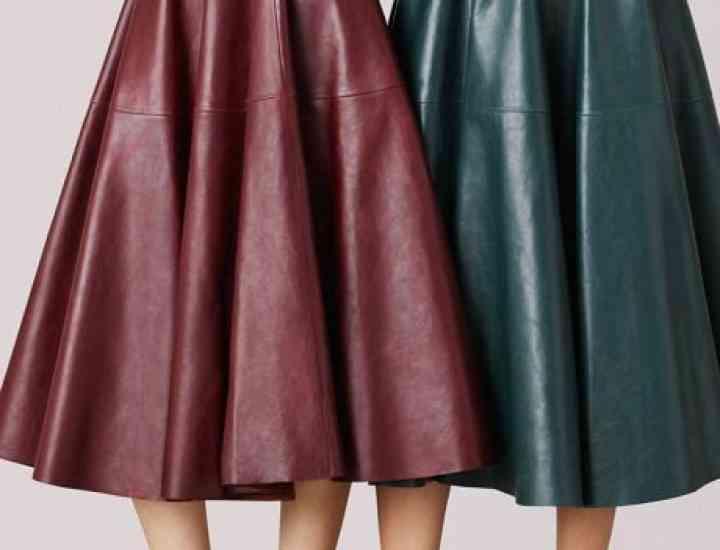 Cum purtăm fusta de piele