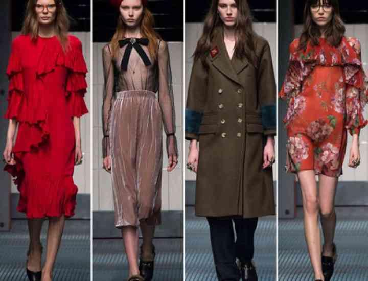 Colecția Gucci toamnă / iarnă 2015-2016 – Milano Fashion Week