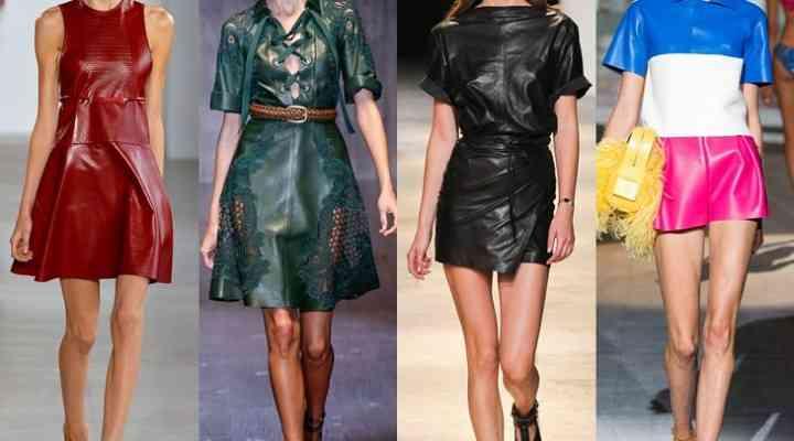rochia de piele un must have n 2015 2016 fashion365. Black Bedroom Furniture Sets. Home Design Ideas