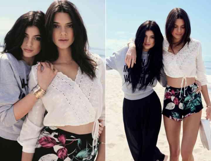 Colecția Kendall + Kylie va fi vândută exclusiv în magazinele Topshop