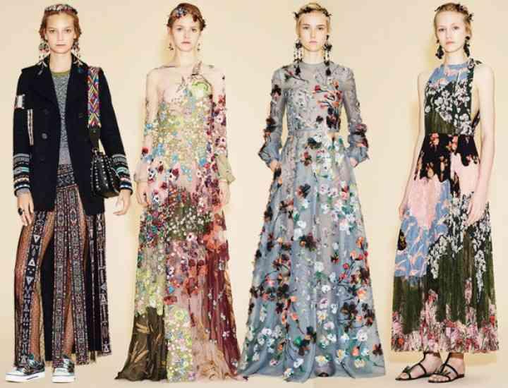 Colecția Valentino Resort prezintă tendințele pentru 2016