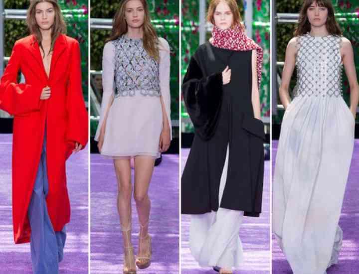 Colecția Christian Dior Haute Couture pentru toamna / iarna 2015-2016