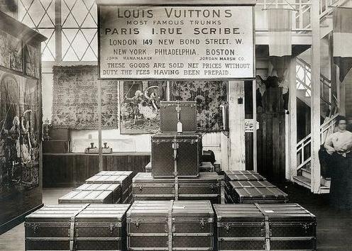 Louis-Vuitton magazin