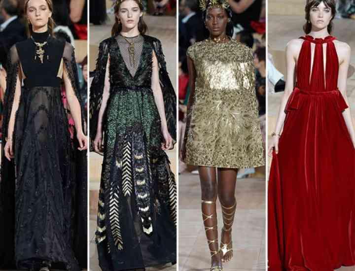 Valentino Couture toamna / iarna 2015-2016: când moda întâlnește arta