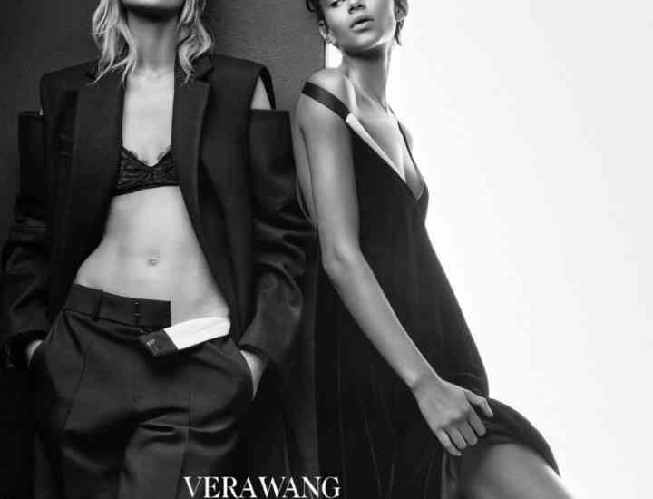 Campania Vera Wang alb și negru pentru toamna 2015