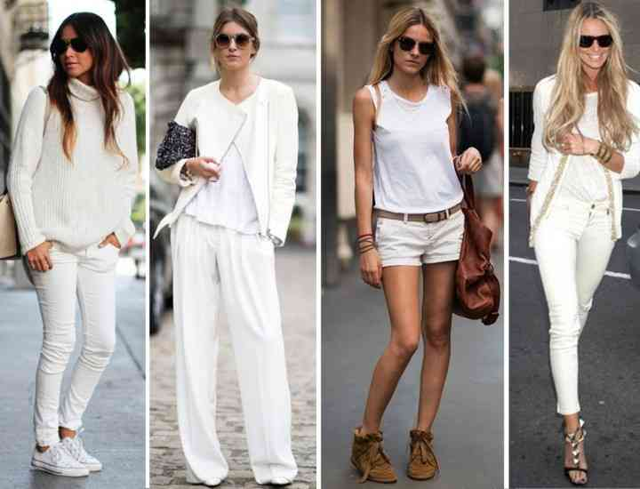 Reguli pentru a arăta perfect într-o ţinută all white