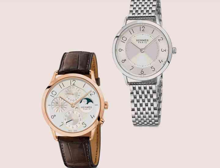 Hermès lansează o colecție de ceasuri de lux, Slim d'Hermès